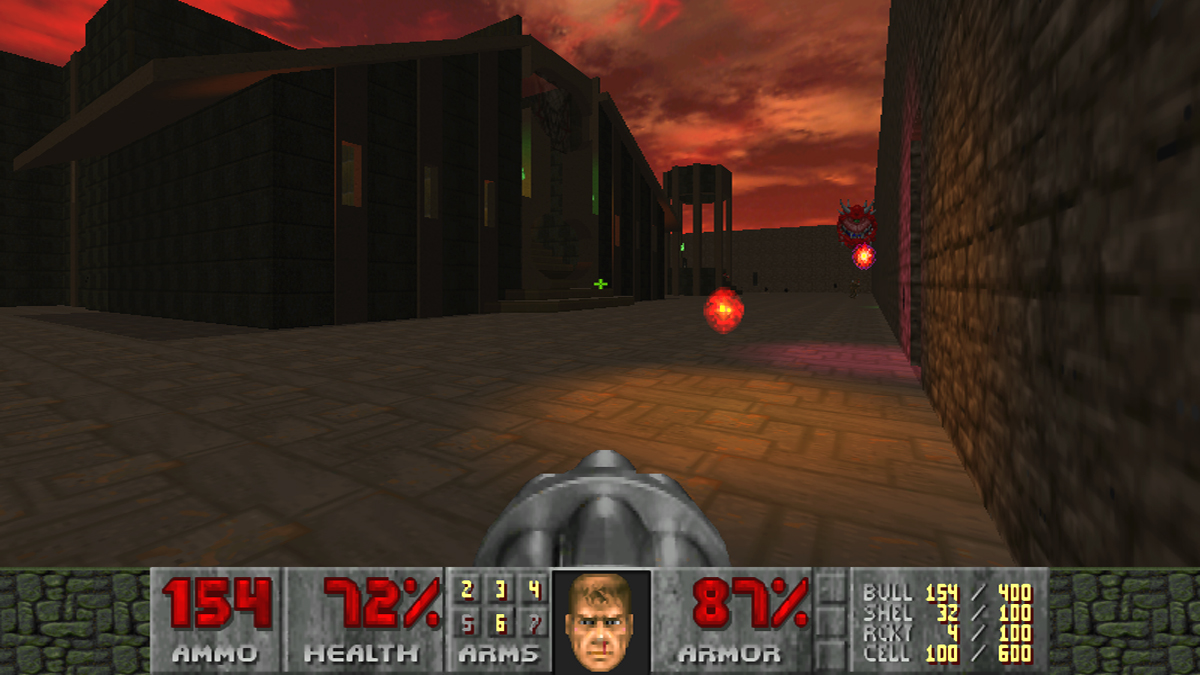 Doom 2 - oj's 10 level wad